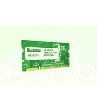 Keystron CB423A 256MB DDR2 144-pin DIMM Printer Memory for HP LaserJet CP2025x CP5225x CP5225dn Laser Jet P