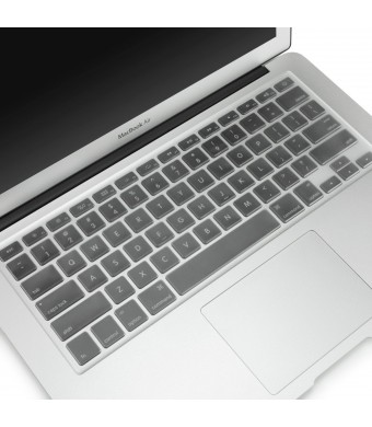"""Mosiso - Ultra Thin Clear TPU Keyboard Cover Skin for MacBook Air 13"""" and MacBook Pro 13"""" 15"""" 17"""" (with or w/out Retina Display) iMac -Clear"""
