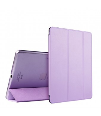 iPad Air Case, ESR Slim Fit Leather Smart Case Cover with Trifold Stand and Magnetic Auto Wake and Sleep Function for iPad Air / iPad 5th Generation (Fragrant Lavender)