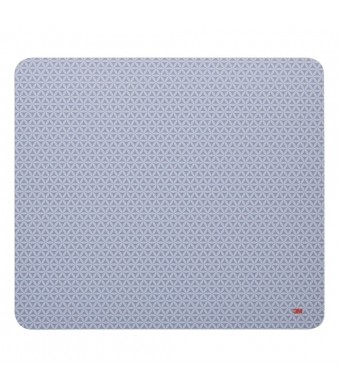 3M Precise Mouse Pad with Non-Skid Backing and Battery Saving Design-Bitmap, 9 x 8 Inches (MP114-BSD1)