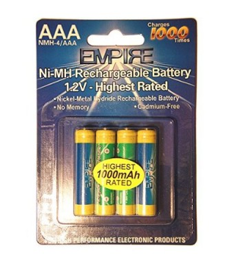 EMPIRE Clarity XLC3.4 Cordless Phone Battery Ni-MH, 1.2 Volt, 1000 mAh - Ultra Hi-Capacity - Replacement