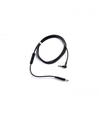 Bose Quiet Comfort 25 Headphones Inline Mic/Remote Cable for Apple devices - Black