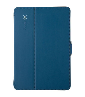 Speck Products Design Speck Products StyleFolio Case for iPad Mini/2/3 - Deep Sea Blue/Nickel Grey