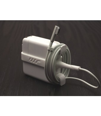 PythonCords.com Python Cords | Laptop Charger Protector (White)