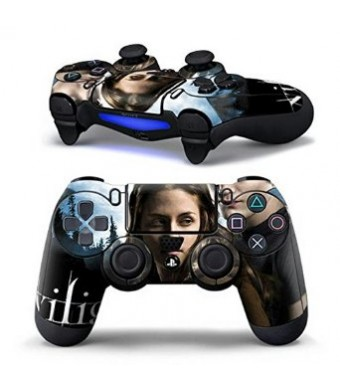 Mod Freakz Sci Fi and Fantasy Pair of Vinyl Decal Controller Sticker Skins for PS4 (Vampire Teen Lovers)