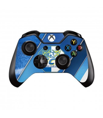 Mod Freakz Xbox One Controller Pair of Vinyl Decal Skins White/Blue Fussball