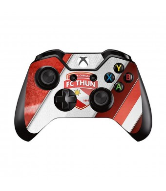Mod Freakz Xbox One Controller Pair of Vinyl Decal Skins Red Shield Football