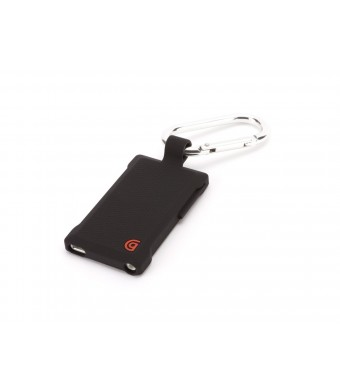 Griffin Technology Griffin Black Courier Clip for iPod nano, 7th gen - Case with detachable carabiner