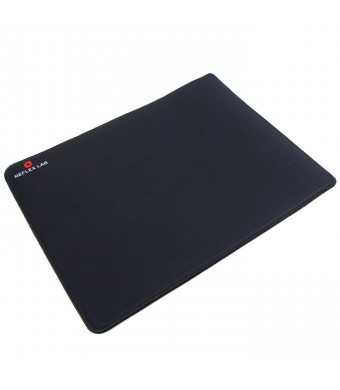 """Reflex Lab Large Gaming Mouse Pad, Stitched Edges, Waterproof, Ultra Thick 5mm, Silky Smooth-15""""x11"""""""