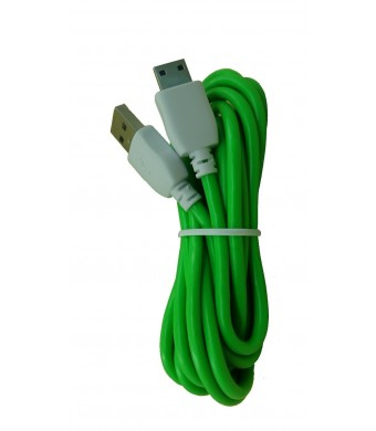 Unknown Green Color 2 Meter (6 Feet) Long Data and Charging Cord for NABi Jr, NABi 2S, NABi Dream Tab and
