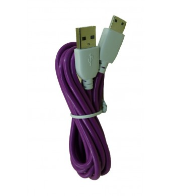 Unknown Purple Color 3 Meter (9 Feet) Extra Length Data and Charging Cord for NABi Jr, NABi 2S, NABi Dream