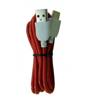 Unknown Red Color 3 Meter (9 Feet) Extra Length Data and Charging Cord for NABi Jr, NABi 2S, NABi Dream Ta