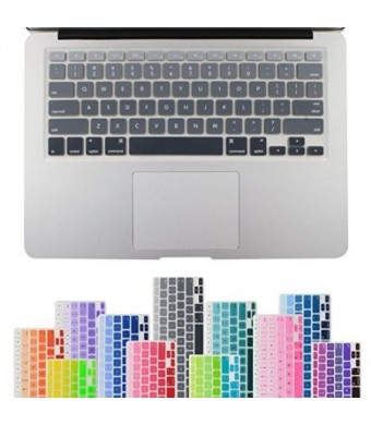 "All-inside Grey Ombre Color Keyboard Skin for MacBook Pro 13"" 15"" 17"" (with or without Retina Display) / MacBoook Air 13"""