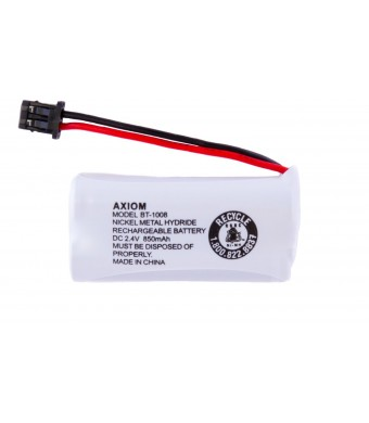 Axiom Rechargeable Battery For Uniden BT-1008 / BT-1016 / BT-1021 / BT-1025 / CPH-515B (1-Pack)