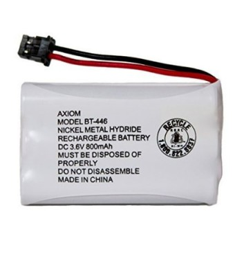 Axiom Rechargeable Battery For Uniden BT-446, BT-1005, ER-P512 (1-Pack)