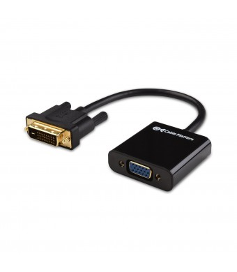 Cable Matters Active DVI-D to VGA Male to Female Adapter - 10 Inches