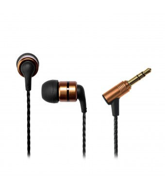 SoundMAGIC E80 Reference Series Flagship Noise Isolating In-Ear Headphones (Gold)