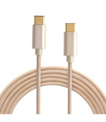 CableCreation USB 3.1 Type C (USB-C) to Type C (Type-C) Cable, 10ft/3M in Gold