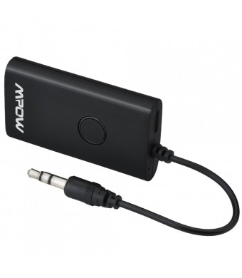 Mpow Portable Bluetooth Transmitter, Audio Adapter(Bluetooth 4.0,3.5mm Audio Device, A2DP) For Home Sound System