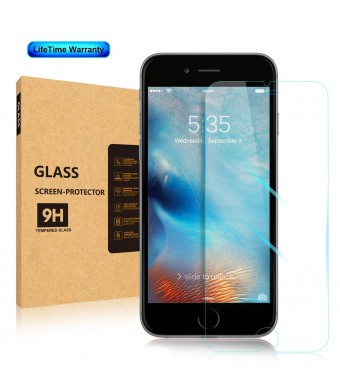 [2 PACK Life Time Warranty 3D Touch Compatible] Aerb™ Apple iPhone 6 / 6S Tempered Glass Screen Pr