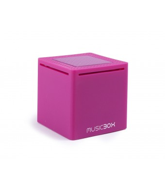 Music Box Mini - Ultra Portable Bluetooth Speaker (Purple)