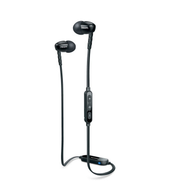 Philips SHB5850BK/27 Wireless Bluetooth Headphones, Black