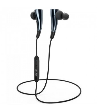 iClever Magnetic Bluetooth 4.1 Headphones, Wireless Stereo AptX Headsets with Build-in Mic for Han
