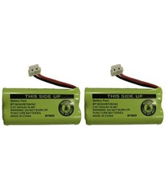 JustGreatDealz Replacement Battery BT184342 / BT284342 for many GE / RCA Cordless Telephones (see description) (2