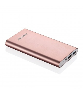 Poweradd Universal Pilot 2GS 10000mAh Portable External Charger with Auto Detect Technology – Rose Gold