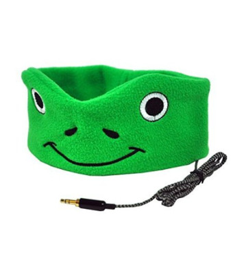 Halo Acoustic Wear CozyPhones Kids Headphones - Super Comfortable and Soft Fleece Headbands. Perfect for Travel and H