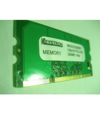 Keystron 256MB DDR2 Memory Brother Laser Printer HL DCP MFC 4150CDN 4570CDW 5450DN 5470DW 5470DWT 6180 8510