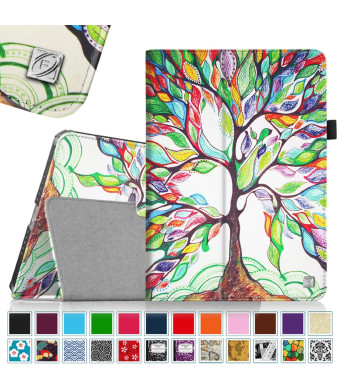 Fintie iPad Air 2 Case - Slim Fit Folio Stand Smart Cover with Auto Sleep / Wake Feature for iPad Air 2 (iPad 6) 2014 Model, Love Tree