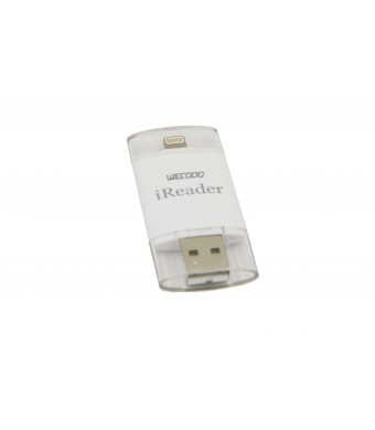 WECODO Lightning iReader USB Micro SD Card Reader for iPhone 6 6S iPhone 6 6S Plus iPad Air 2 Computer Laptop