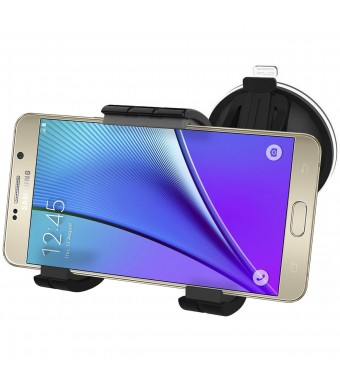 Encased (XL) Samsung Galaxy Note 5 Easy-Dock Car Mount Holder - Windshield and Dashboard Compatible (By En