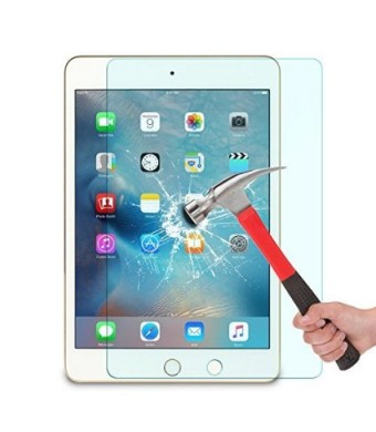 OMOTON Ultra Clear 9H Hardness Tempered-Glass Screen Protector for iPad Pro 9.7 Inch / iPad Air / iPad Air 2