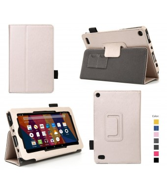"""Elsse Case for Fire 7 - Premium Folio Case with Stand for the NEW Fire, 7"""" Display (Sept, 2015 Release)"""