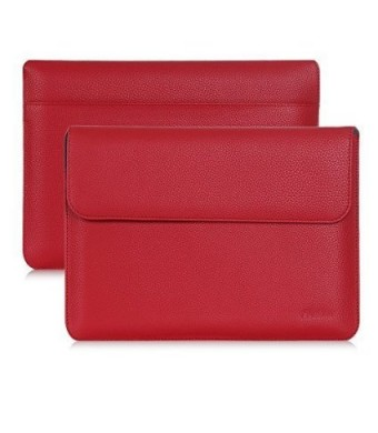 Google Pixel C Case Sleeve, ProCase Wallet Sleeve Case for 2015 Google Pixel C Tablet 10.2 inch, Compatible with Google Pixel C Keyboard (Red)