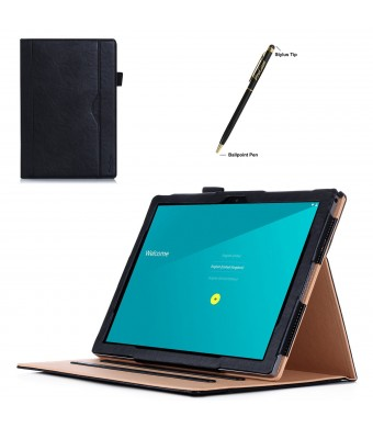 Google Pixel C Case, ProCase Leather Stand Folio Case Cover for 2015 Google Pixel C Tablet 10.2 in