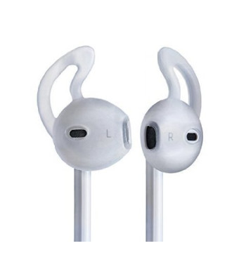 EarBuddyz Ear Hook Cover for Apple EarPods - Secure Fit Grip Compatible with iPod, iPhone 5, and i