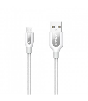 Anker PowerLine+ Micro USB (3ft) The Premium and Durable Cable [Double Braided Nylon] for Samsung, Nexus, LG, Motorola, Android Smartphones and More