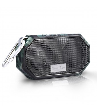 Portable Bluetooth Speakers, Hakey Wireless Outdoor and Shower IP66 Waterproof CRS 4.0 Bluetooth Small Speaker for iPhone 6s plus Samsung S6 edge and Compatible with All Audio Devices - Camouflage