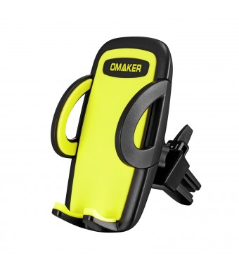 Omaker Adjustable Car Mount Phone Holder Allows for The Easiest Insertion, Removal, Repositioning