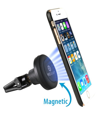 WizGear (TM) Magnetic Mount, WizGearTM Universal Twist-lock Air vent Magnetic Car Mount Holder, for Cell Phones