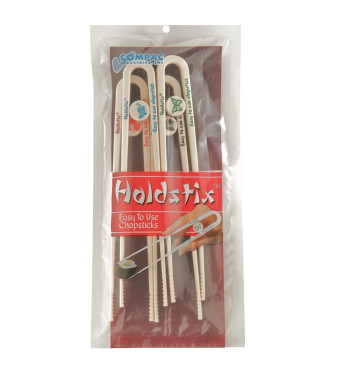 Compac Holdstix 4ct Easy To Use Chopsticks Dishwasher Safe Abs Plastic - Made In Usa, 4-Count