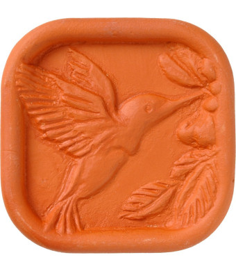 JBK Pottery JBK Hummingbird Terra Cotta Brown Sugar Saver