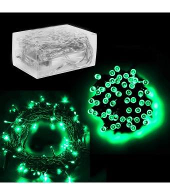 Super Z Outlet 30 Mini Bulb LED Battery Operated Fairy String Lights in Apple Green, for Christmas, Wedding, Home