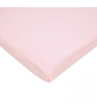 American BaCompany American Baby Company 100% Cotton Value Jersey Knit Cradle Sheet, Pink