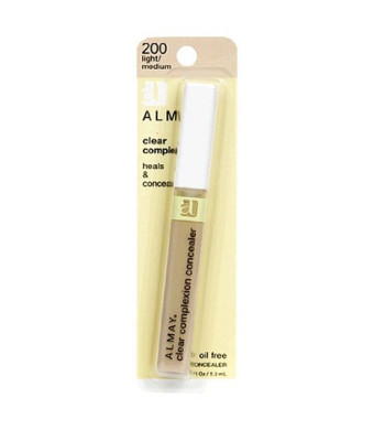 Almay Clear Complexion Oil Free Concealer, Light/Medium 200, 0.18 Ounce Package