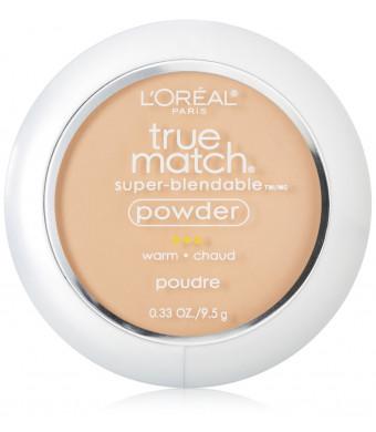 L'Oreal Paris True Match Powder, Natural Beige, 0.33 Ounces