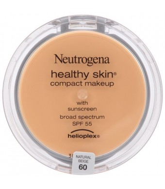 Neutrogena Healthy Skin Compact Makeup SPF 55 with Helioplex, Natural Beige 60, 0.35 Ounce